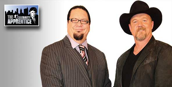 Trace Adkins was hired over Penn Jillette as the winner of The celebrity Apprentice