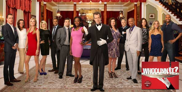 Trying to uncover a murderer on ABC's Whodunnit?