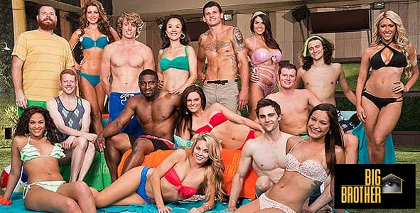 The cast of Big Brother 15 in the premiere of BB15