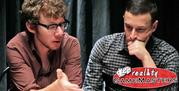 John Cochran and Eric Stein in Reality Gamemasters Episode 2