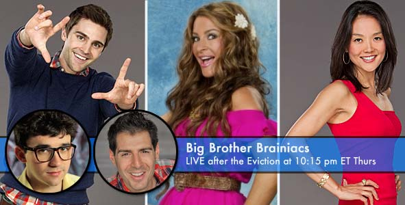 Nick Uhas, Elissa Slater and Helen Kim are nominated for eviction on Big Brother 15
