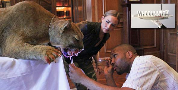 The case of the mountain lion that apparently killed Don on Whodunnit Episode 4