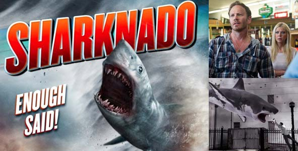 Talking about the summer movie that's taking the world by STORM, Sharknado