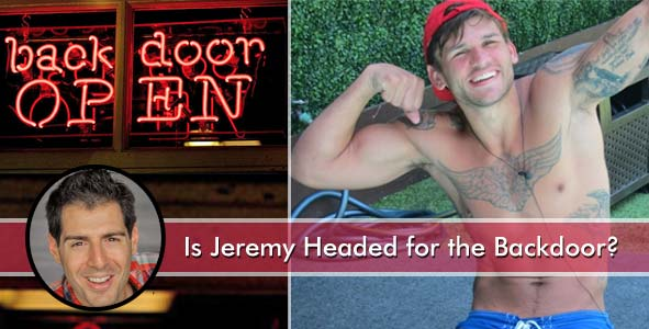 Is Jeremy McGuire headed for the backdoor on Big Brother 15?