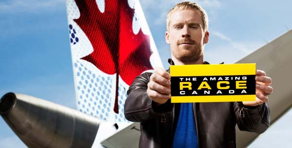 John Montgomery hosts The Amazing Race Canada