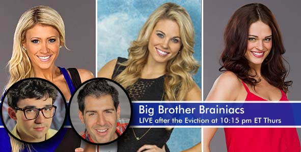 LIVE After the Big Brother Eviction of Ginamarie, Aaryn or Kaitlyn
