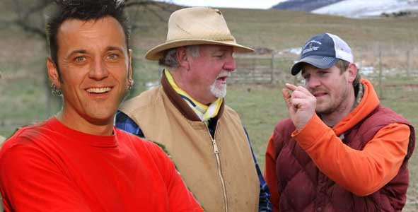 Lex Van Den Berghe and Tom Buchanan discuss going from former Survivor Africa tribemates to the new show Family Beef