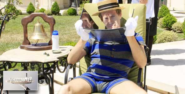 Giles gets some sun on Episode 7 of Whodunnit