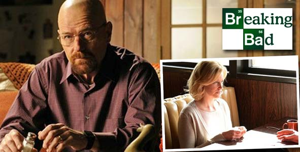 Walter White and Skyler both deal with the increasing pressure of being caught on Breaking Bad