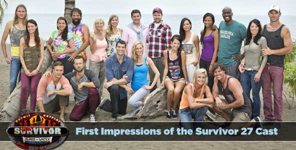 First Impressions of the Survivor 27 Cast