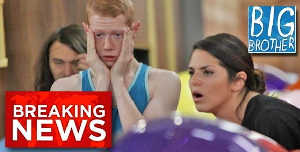 Amanda and Andy react to Big News on the Big Brother Live Feeds