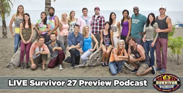 """Rob and Nicole make predictions about the cast of season 27, """"Survivor: Blood vs. Water"""""""