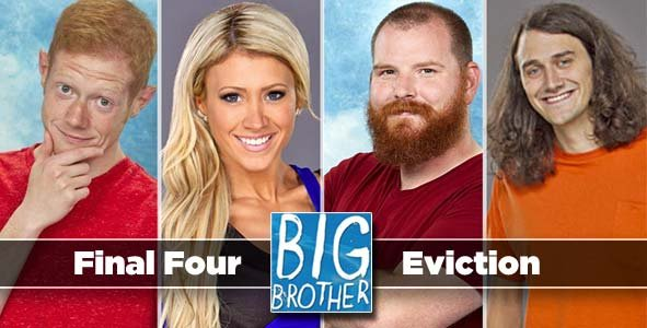 It's down to the final four of Big Brother 15