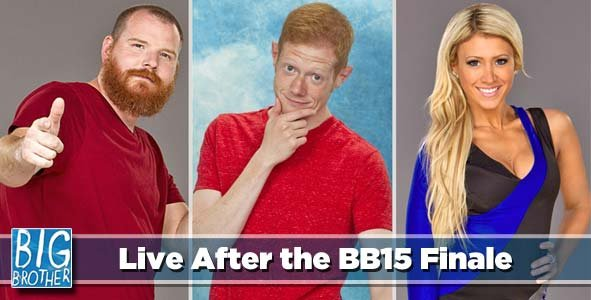 LIVE Reaction to the winner of BB15 as we go LIVE after the Big Brother 15 Finale