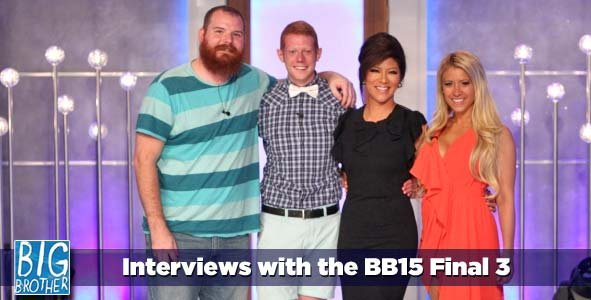 Final 3 Interviews with the Winner of Big Brother 15 Andy Herren, Spencer Clawson and Ginamarie Zimmerman