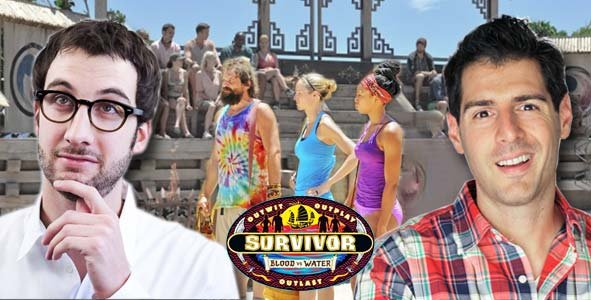Rob Cesternino and Stephen FIshbach are LIVE after the Episode 2 of Survivor Blood vs Water
