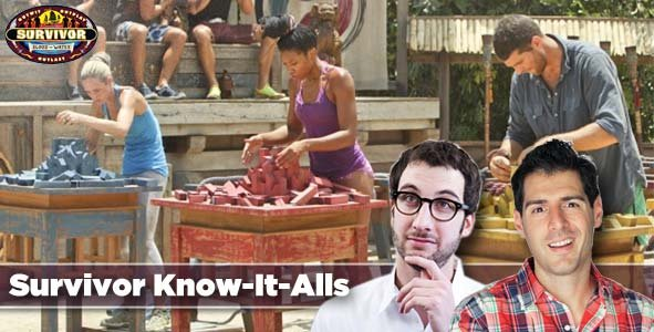 Rob Cesternino and Stephen Fishbach aka The Know-It-Alls Recap Survivor Blood vs Water Episode 4:  One Armed Dude and Three Moms