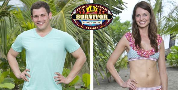 Colton Cumbie and Rachel Fouger were the most recently eliminated contestants from Survivor Blood vs Water