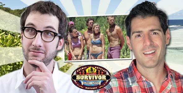 Rob Cesternino and Stephen Fishbach aka The Survivor Know-It-Alls recap
