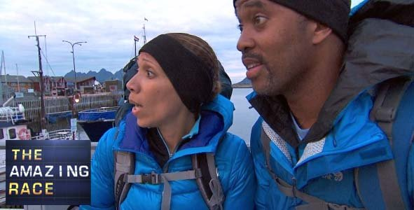 Nicole and Travis on Amazing Race 23 Episode 4