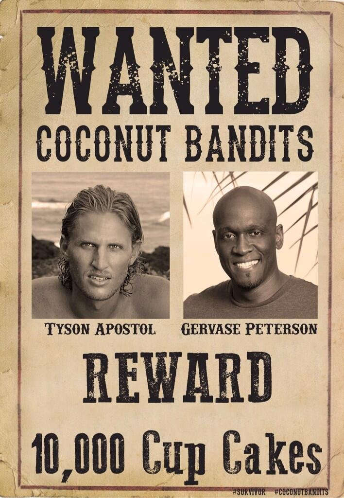 Tyson and Gervase ARE the Coconut Bandits
