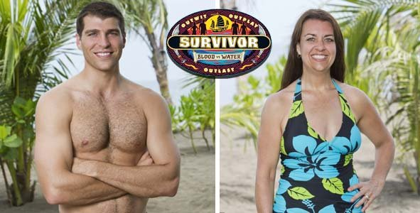 Rob Cesternino talks to the latest two players eliminated from Survivor Blood vs Water
