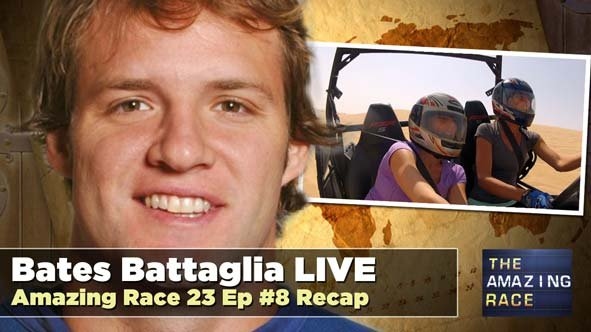 Amazing Race 22 Winner, Bates Battaglia Recaps the Latest Episode of Amazing Race 23