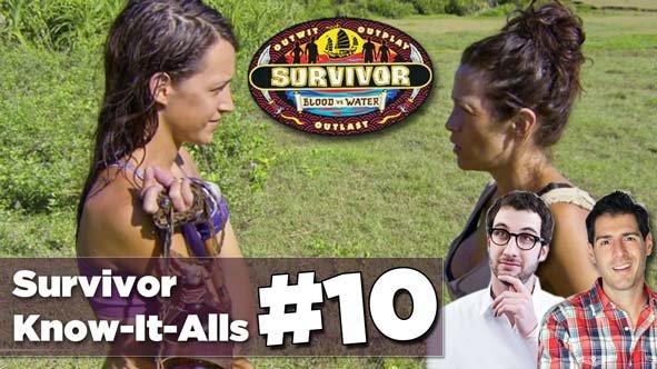 Ciera and Laura Morett butt heads on the Survivor Blood vs Water Episode 10 Recap