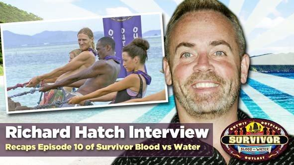 Original Survivor winner, Richard Hatch, about the changes in Gervase on Survivor Blood vs Water