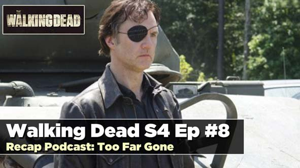 Tanks Alot: The Governor is Back to Face off with Rick on the Season 4 Mid-Season Finale of the Walking Dead
