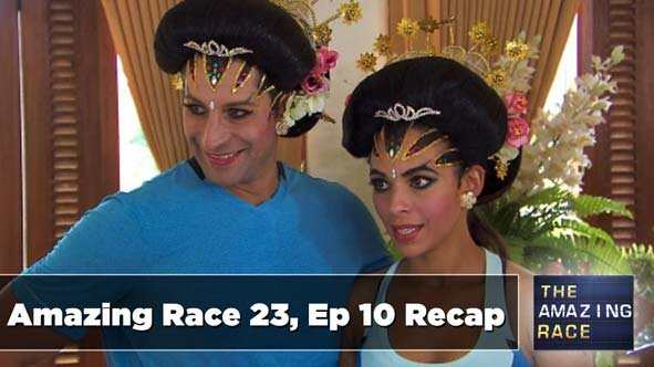 The Amazing Race 23 Episode 10 Recap is Never a DRAG