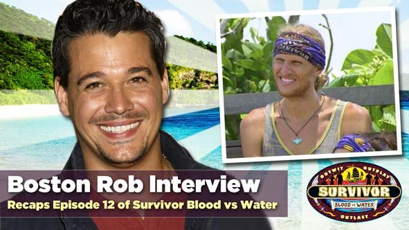 Boston Rob returns to Rob Has a Podcast to discuss Tyson and Survivor Blood vs Water