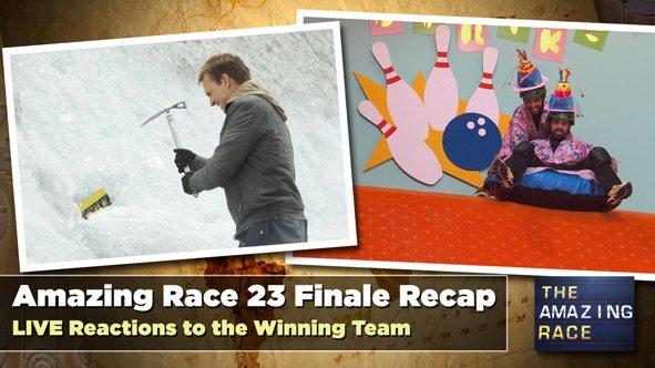 LIVE Recap of the Amazing Race 23 Finale: Amazing Crazy Race