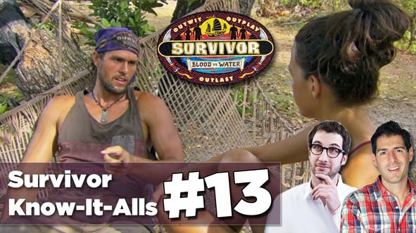 Stephen Fishbach and Rob Cesternino recap episode 13 of Survivor Blood vs Water LIVE