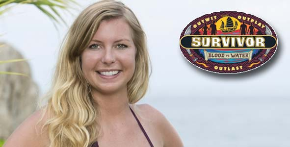 Katie Collins was the latest player eliminated from Survivor Blood vs Water