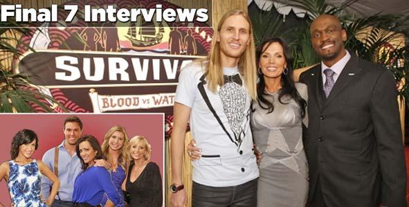 Interviews with the Survivor Blood vs Water Final 7: Winner Tyson Apostol, Monica Culpepper, Gervase Peterson, Hayden Moss, Tina Wesson, Laura Morett & Ciera Eastin