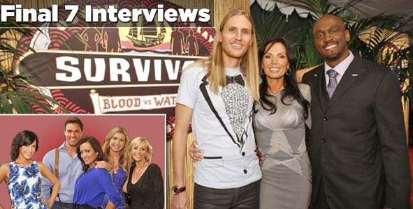 Interviews with the Survivor Blood vs Water Final 7: Winner Tyson Apostol, Monica Culpepper, Gervase Peterson, Hayden Moss, Tina Wesson, Laura Morett & Ciera Eastin