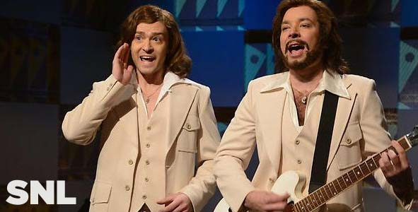 Justin Timberlake and Jimmy Fallon on an all new SNL