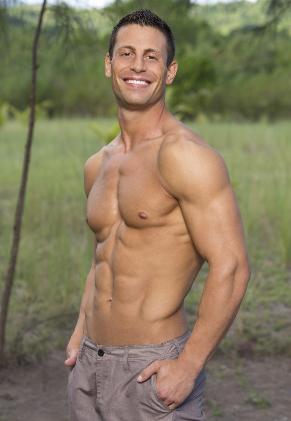 Garrett Adelstein is one of the interchangeable players on Survivor Cagayan