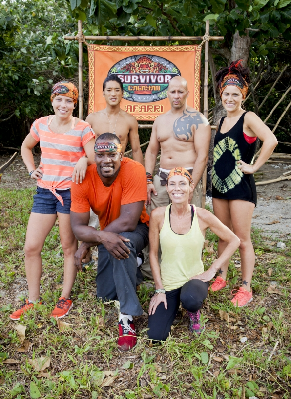 The Brawn tribe from Survivor Cagaynan
