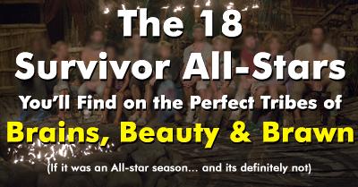 Rob's All-Star Brains Beauty & Brawn