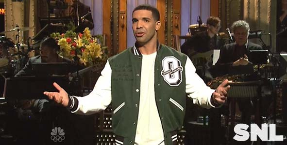 Drake Hosts Saturday Night Live on January 18, 2014
