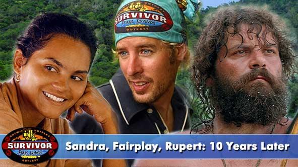 Sandra, Fairplay and Rupert 10-Years Later