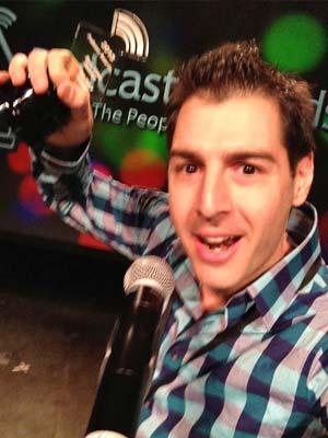 Rob Has an Acceptance Speech Selfie