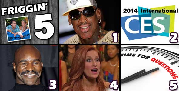 We talk about Dennis Rodman, CES, Big Brother, The Bachelor and answer your questions