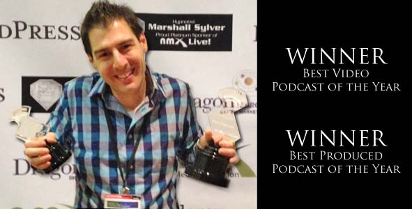 Rob Has a Podcast wins the Best Video and Best Produced Podcast of the Year Awards