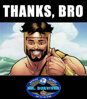 Thanks for voting for Mr. Survivor 2014