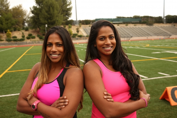 Natalie and Nadiya are the first team eliminated from The Amazing Race All-Stars