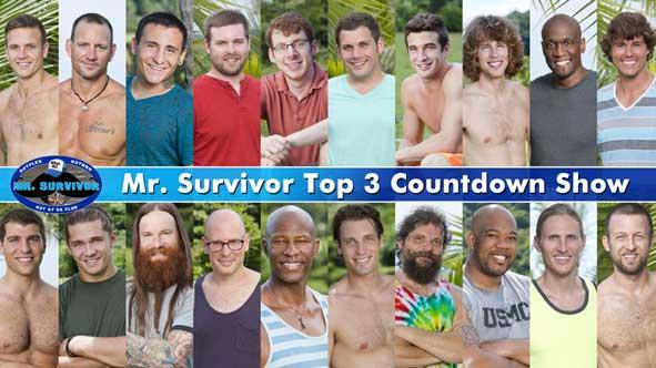 Who will make the Mr. Survivor Top 3?