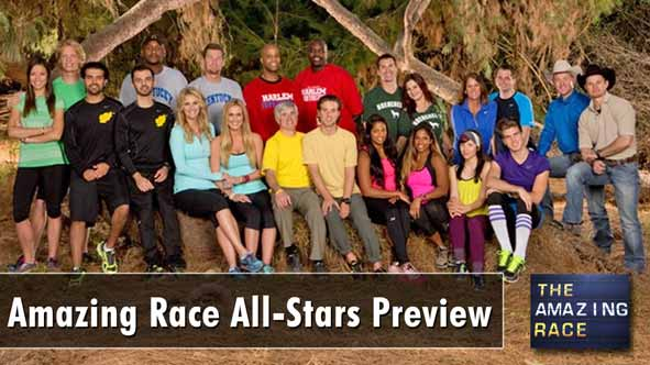 Previewing the 11 teams competing on the Amazing Race All-Stars